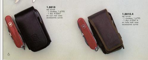 Pochettes/étuis des couteaux suisses Ytuis10
