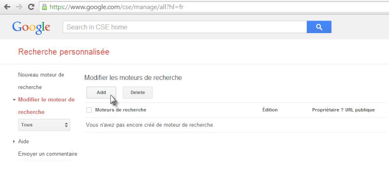 Ajouter une barre de recherche Google à votre forum Recher12