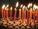 Joyeux anniversaire Rose Bleue Gateau12