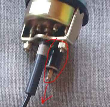Réparer la sonde de température Captur31