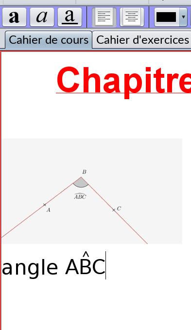 MathEOS (~BOMEHC) traitement de texte adapté aux cours de maths Matheo10