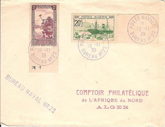 Bureau Naval N° 22 d'Alger Alger_11