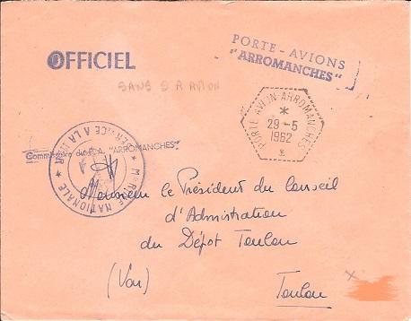 cachet illustrés, griffes, commémoration Arroma11