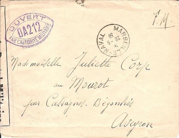 Bureau Naval N° 11 de Marseille Marsei10