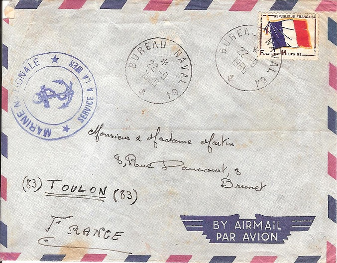 N°64 - Bureaux Navals Embarqués Papeet10
