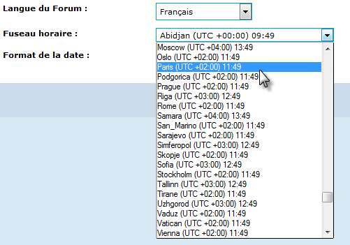 FAQ - Forum Transformers et Site web Fuseau11
