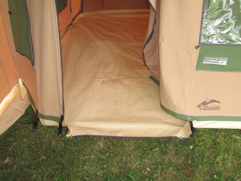 CHAMONIX - Fermeture pas étanche porte Chamonix (ancienne tente) Img_4931
