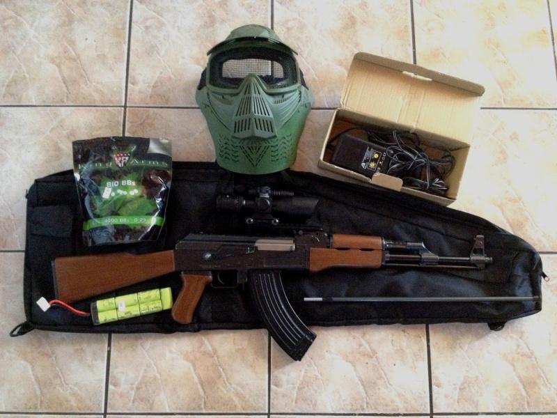 [VDS] AEG AK47 Kalashnikov Tokyo Marui + Accessoires Airsof10
