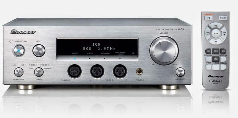 DAC/Amp Pioneer U-05 Pio0110