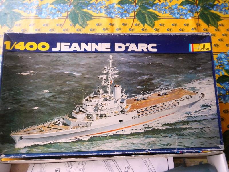 La Jeanne d'Arc au 1/400 de Heller Dscn1934