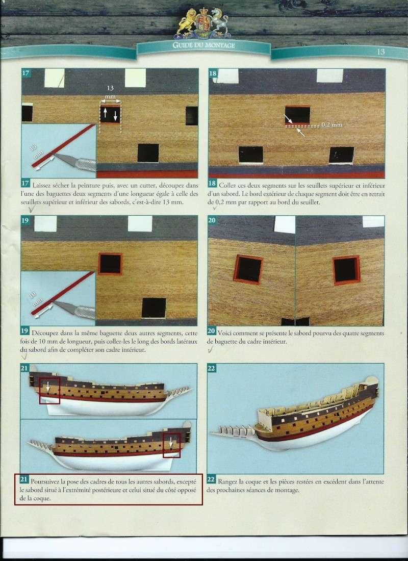 Construction du Sovereign of the Seas au 1/84 (partie 1) - Page 8 Questi13