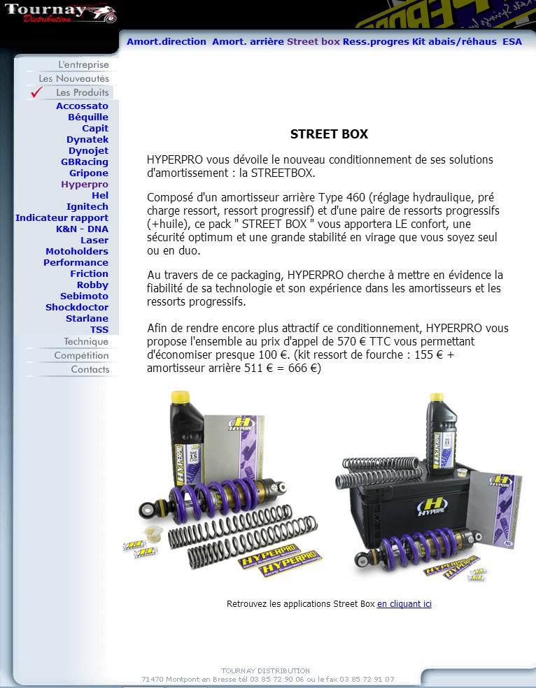 HYPERPRO STREETBOX kit ressorts fourche +amortisseur qui connait ? Hyperp10