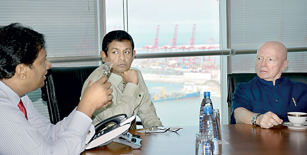 Emerging markets guru Mobius upbeat over Sri Lanka Bup_df11