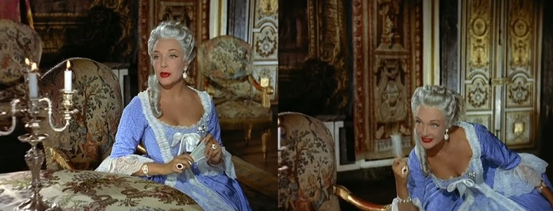 Si Versailles m'était conté (Lana Marconi), réalisé par Sacha Guitry en 1953 - Page 2 1010