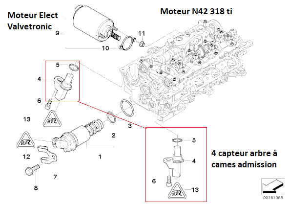 [BMW e46 318ti N42 an 2003] Micro coupures + rapport erreurs BMW Scanner 12_n4210