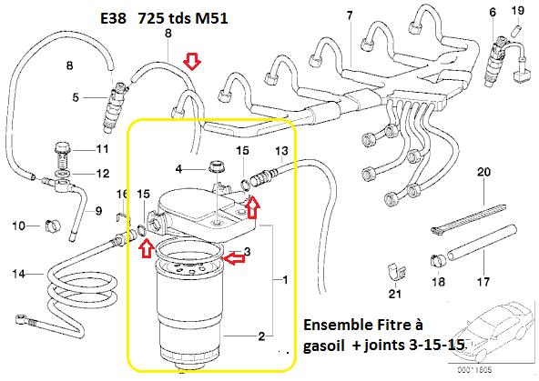 [ BMW e38 725 tds an 1997 ] problème démarrage a froid  13_72511