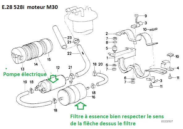 [ BMW E28 528i M30 an 1986 ] A coups moteur, pas possible de dépasser 3000 trs/min (résolu) 16_e2810