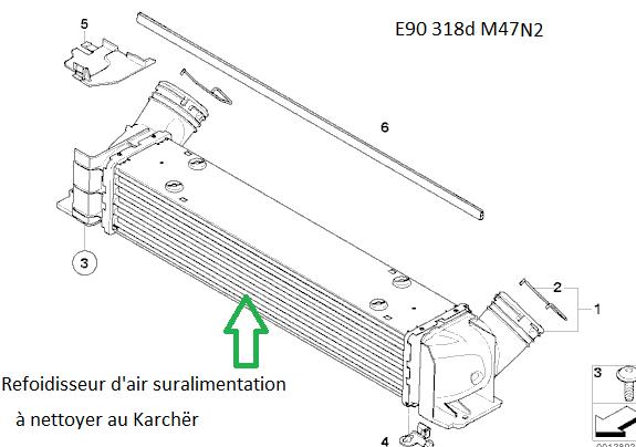 [ BMW E90 320d an 2006 ] Léger sifflement à froid avec nouveau turbo, est-ce normal? 17_e9011