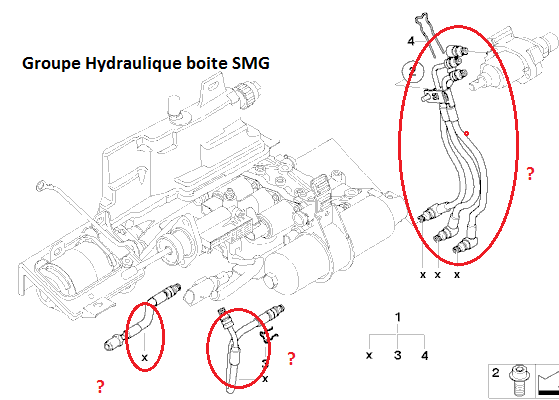 [ BMW e85 Z4 3.0i SMG-C an 2003 ] Grosse fuite groupe hydraulique SMG 23_boi10