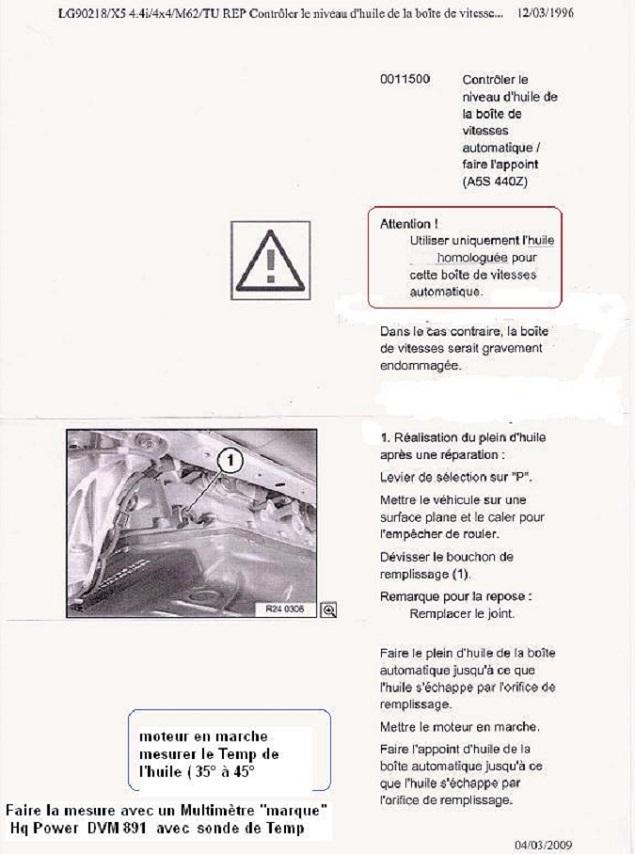 [ BMW e46 330 XiA touring an 2001 ] Vidange boite et pont 24_bva10
