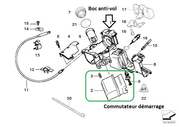[ BMW E39 525 tds M51 an 1996 ] plus d'autoradio suite a problème électrique  61_cot10