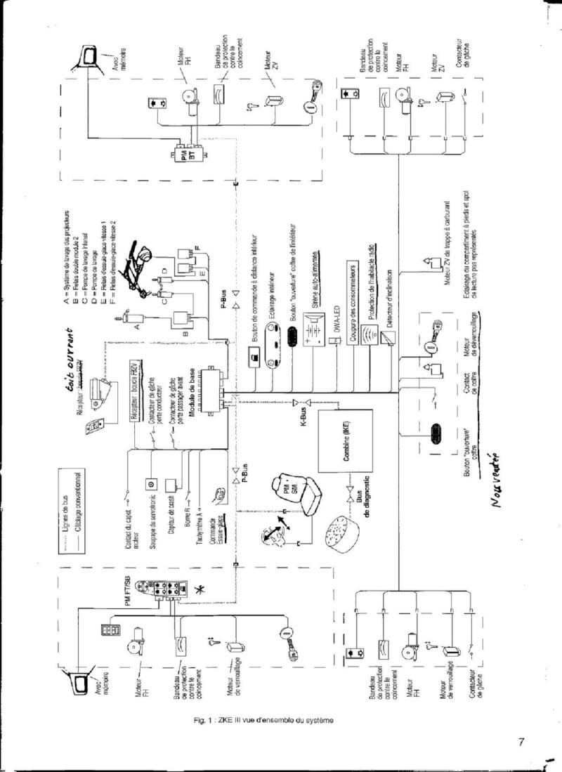 [ BMW E46 320 ci an 1999 ] branchement kit fermeture centralisée 61_zke10