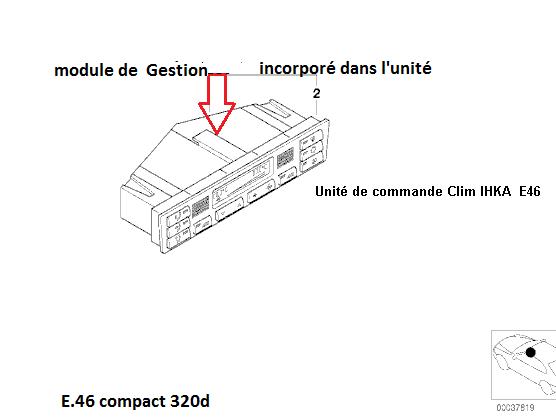 [ BMW E46 320 td compact 150cv an 2002 ] ventilateur se met en route tout seul 64_e_411