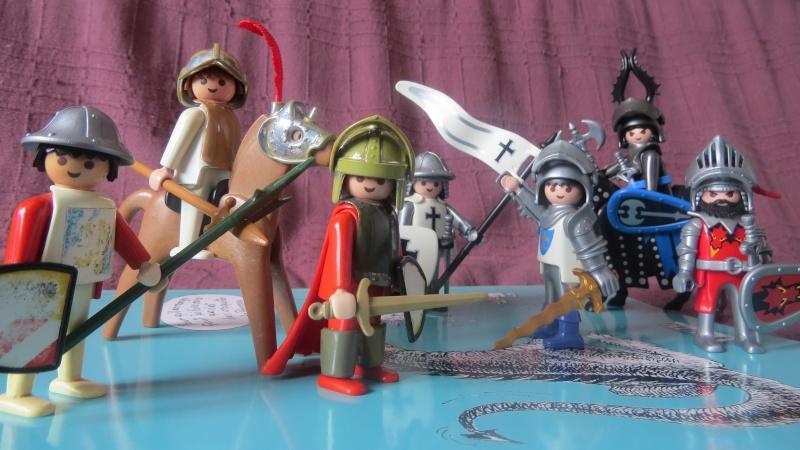 [Playmobil] Le thème MOYEN-AGE chateaux, chevaliers... - Page 2 Img_0136