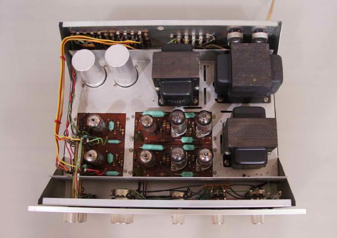 Dynaco SCA 35  Integrato a valvole Dentro12