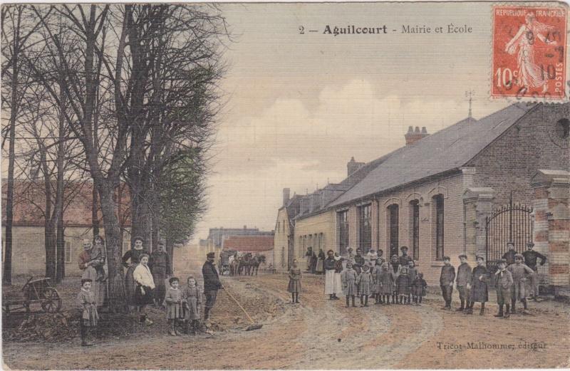 Aguilcourt, l'école Numeir12