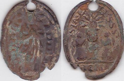 Médaille Assomption Vierge Marie - XVIIème Medail10