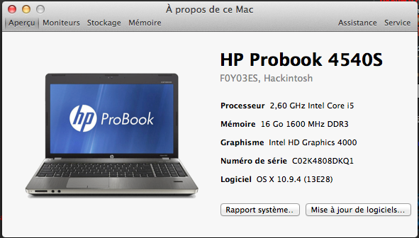 Ecran Full HD sur HP Probook 4540S Captur14