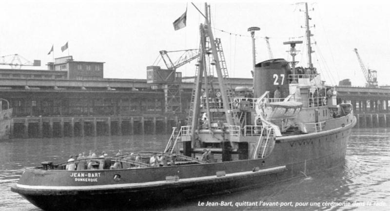 Remorqueurs Jean BART, Smit Rotterdam au 1/200 Heller, Revell, diorama.  Jean-b16