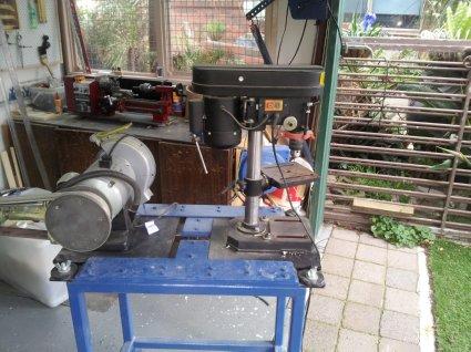Space saving work bench 20140613