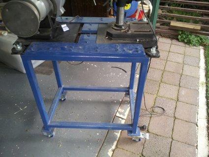 Space saving work bench 20140614