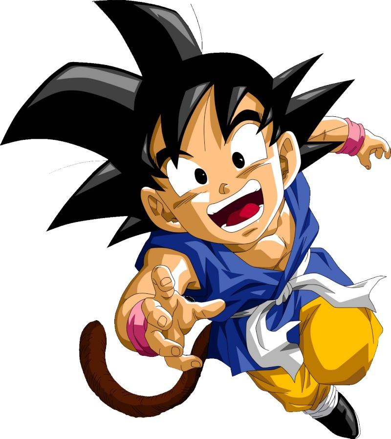 [Renders] Dragon Ball GT KID GOKU Dragon10