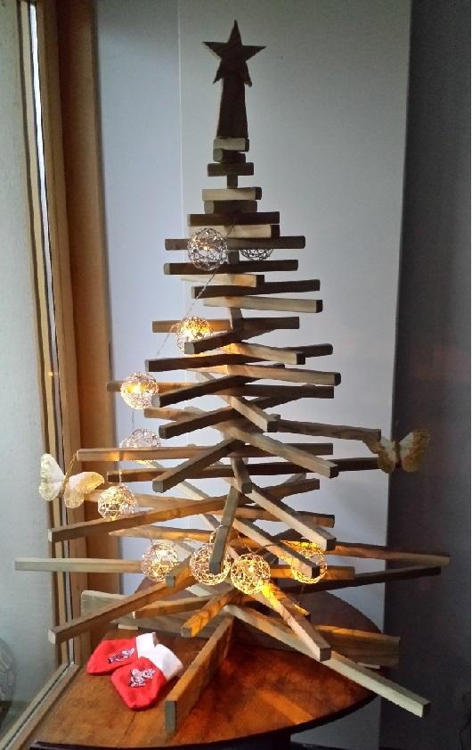 Sapin de Noël de boiseux. Sapin12