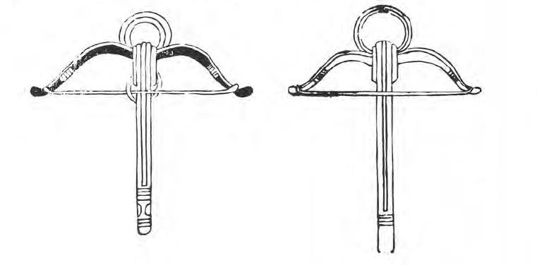 Medieval crossbows with circular stirrups Crossb10
