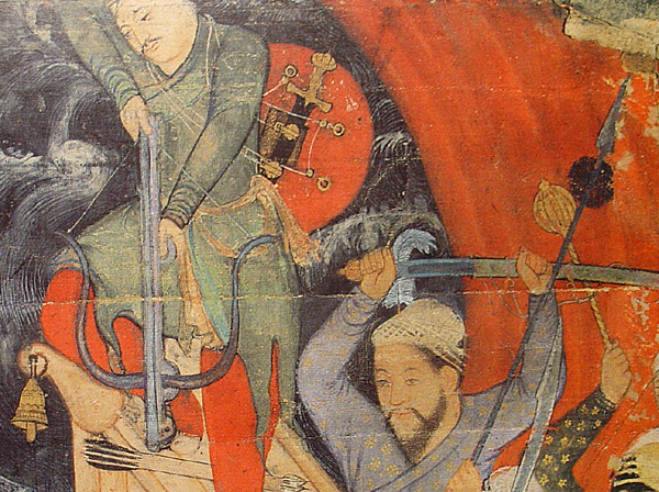 Medieval crossbows with circular stirrups Mughal10