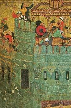 Medieval crossbows with circular stirrups Timur_10