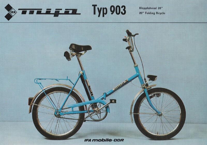 MIFA Klapprad (vélo pliant) Mifa-910