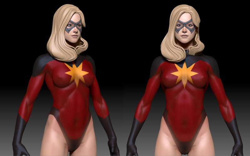 Premium Collectibles : Ms Marvel - Comics Version 03_msm10