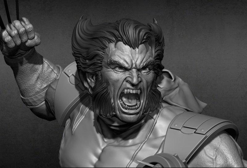 Premium Collectibles : Wolverine - Comics Version New_fa10