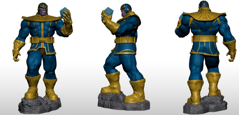Premium Collectibles : Thanos  Xmstud10
