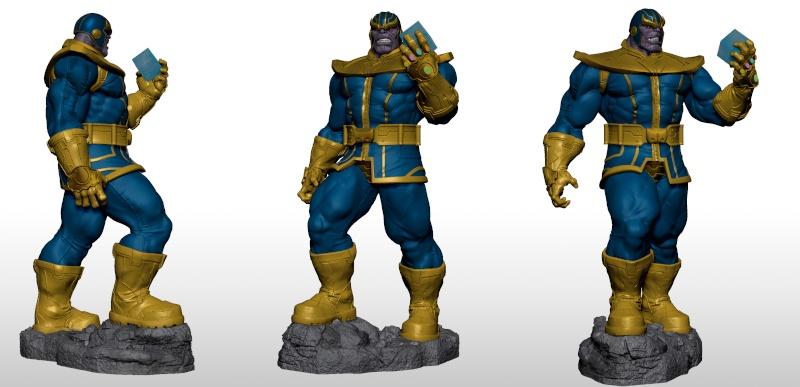 Premium Collectibles : Thanos  Xmstud11