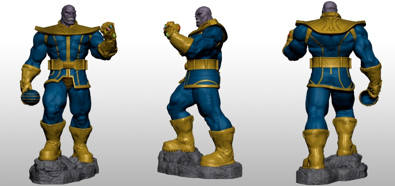 Premium Collectibles : Thanos  Xmstud12