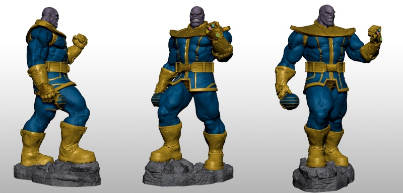 Premium Collectibles : Thanos  Xmstud13