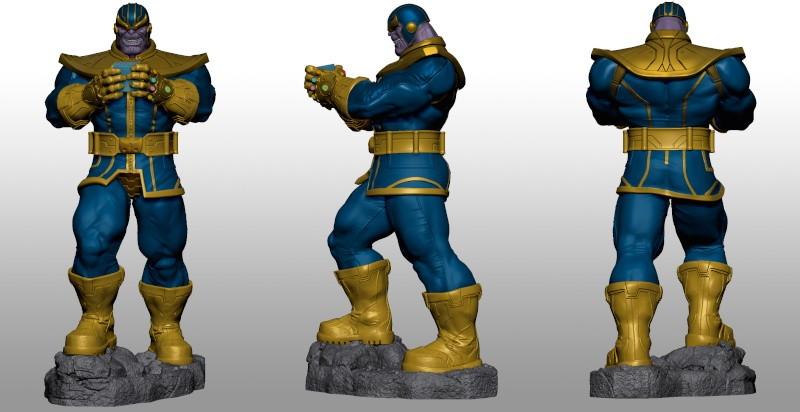 Premium Collectibles : Thanos  Xmstud14