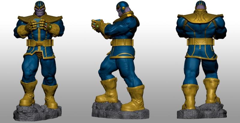 Premium Collectibles : Thanos  Xmstud14
