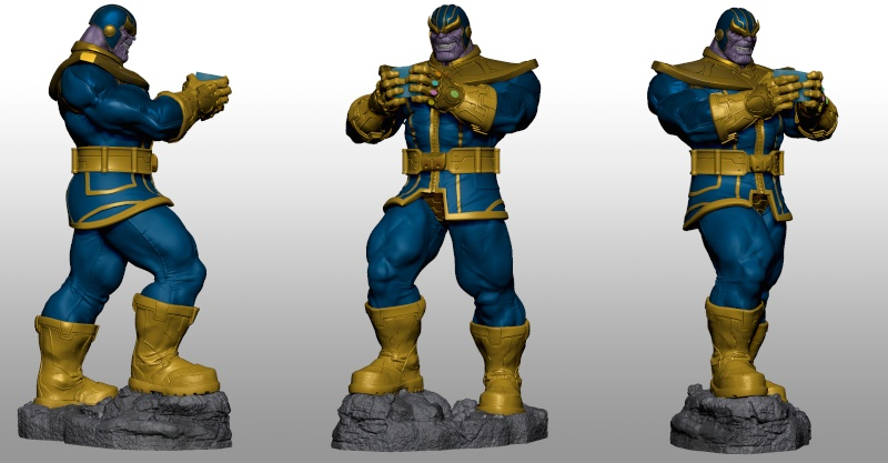 Premium Collectibles : Thanos  Xmstud15